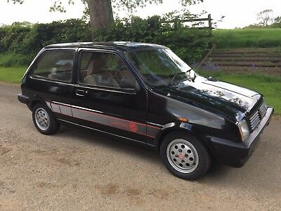 MG metro 1983 mk1 1300 BLACK WITH PEPPERPOTS barn find , 4 owners