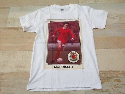 MORRISSEY OFFICIAL  Soft Style T SHIRT M Medium size white  The Smiths