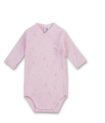 Sanetta Baby Bodysuits Long Sleeved Feathers Pink sz. 56 62 68
