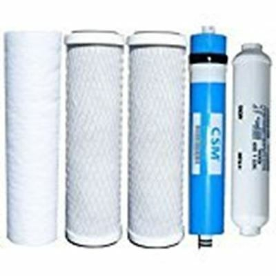 Aquasky ROT-5 Stage Reverse Osmosis Water Filter Kit and Membrane