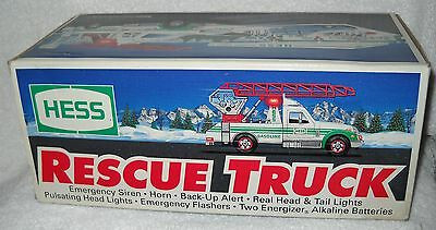 #4217 NRFB HESS GAS Station 1994 Christmas Rescue Truck