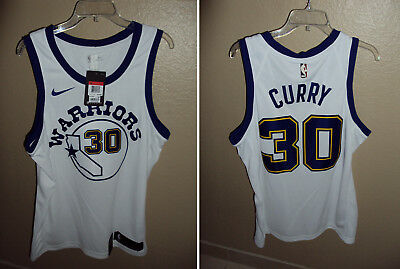 newest 659bd aaf5d NIKE STEPHEN CURRY Golden State Warriors Classic Swingman Jersey Men's Large