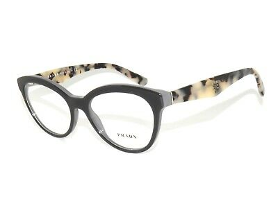 713b9e5c686a PRADA VPR 11R TFN-1O1 Gray/White Havana New Authentic Eyeglasses Rx ...