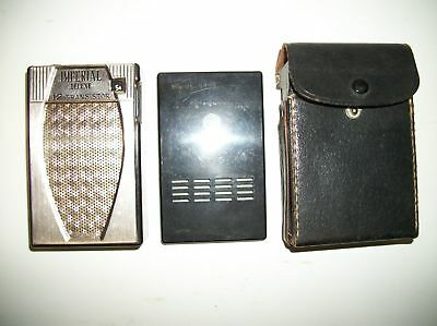 Vintage collectable Imperial Deluxe 12 Transistor AM Radio with Case