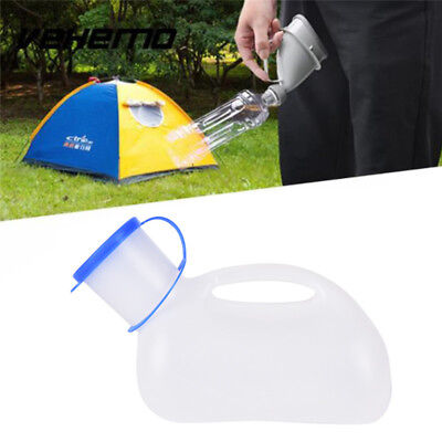 Portable Car Handle Urine Bottle Urinal Travel Camp Urination Device Pee SGT