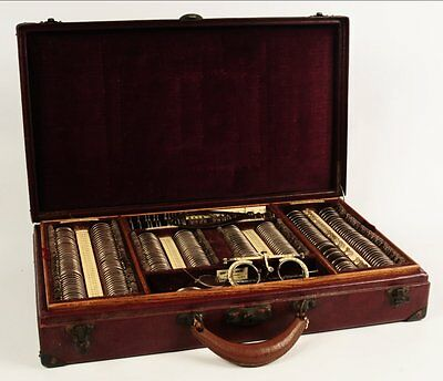 Antique Merry Optical of Kansas City Testing Kit -  Circa Early 1900s