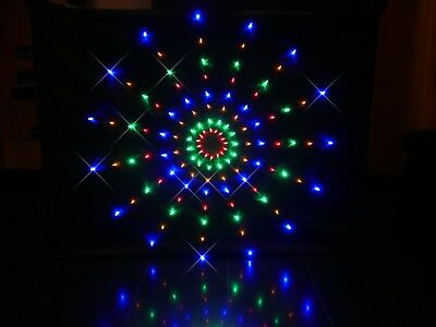 Star Curtain cloth. 200cm x 100cm. 120 LEDs. TORRID STARCLOTH. for 4ft DJ booth
