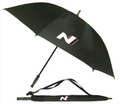 Hyundai N Series Black Track Umbrella