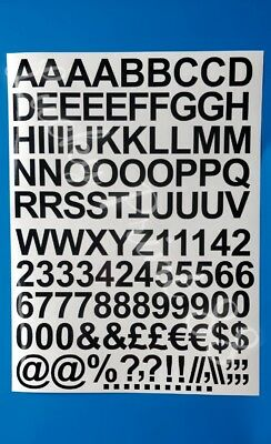 Self Adhesive Vinyl Decal Letters & Numbers Stickers