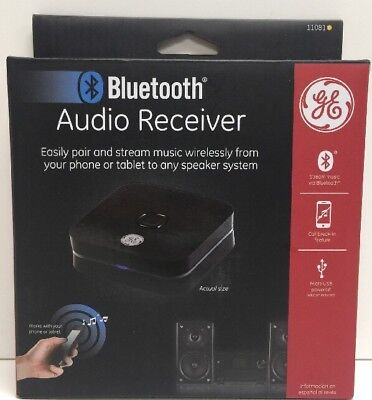 (New) GE 11081 Home Audio Bluetooth Receiver 11081