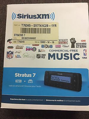 SiriusXm Stratus 7 Radio & Vehicle Kit (NIB)