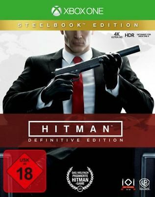 Hitman: Definitive Edition (Steelbook) [XBox One] (Neu)