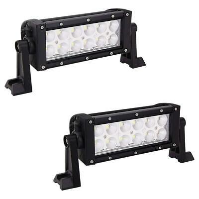 "2x 7inch 36W LED Work Light Bar Flood Offroad ATV Fog Truck Lamp 4WD 12V 6"" Lamp"