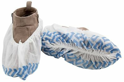 Disposable Non Slip Shoe Cover Booties | Extra Thick, Water Resistant