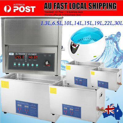 Stainless Steel Industry Digital Ultrasonic Cleaner Heated Cleaning Tank Machine