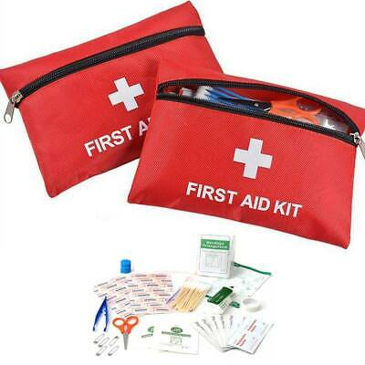 38PC Emergency Kit Bag First Aid Kit Medical Pouch Suitable for Home Work Travel