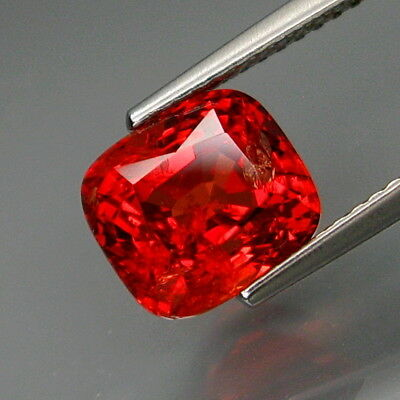 3.26Ct.Very Rare Color! Natural BIG Imperial Red Spinel MaeSai,Thailand