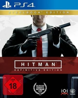 Hitman: Definitive Edition (Steelbook) [PS4] (Neu)