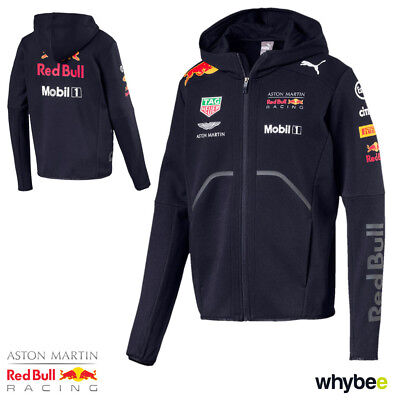0d1549b6fafd6 NEW! 2018 RED Bull Racing Formula One Team Mens Hooded Jacket Official F1  Puma