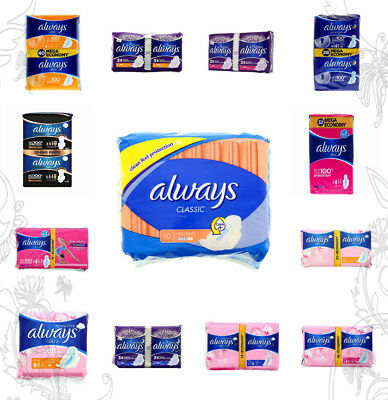 Always Sanitary Napkins Classic Ultra Platinum Sensitive Night Normal Plus