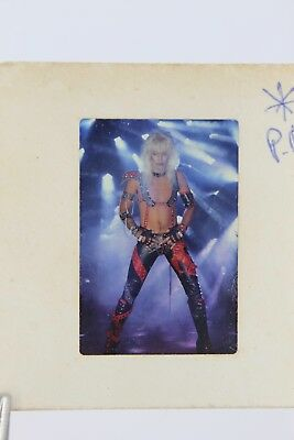 Motley Crue Vince Neil Original 1983 Shout At The Devil 35MM Slide Photograph