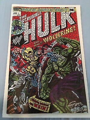 Hunt For Wolverine #1 Shattered Variant Hulk #181 Little Giant NM - SOLD OUT!