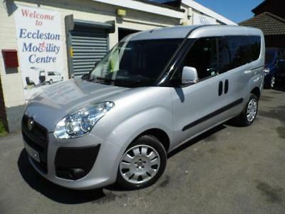 Fiat Doblo diesel wav wheelchair access accessible disabled car vehicle