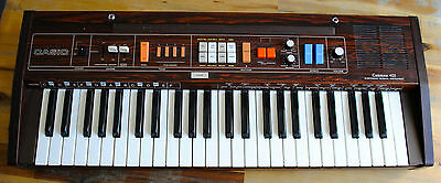 Piano synthé CASIO CASIOTONE 403 electronic Keyboard en bois (wood) HS Panne