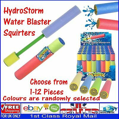 Wholesale Job Lot Foam Water Squirters Blasters HydroStorm Party Bag Summer Toys