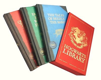 Harry Potter - Limited Edition Hogwarts Library - Comic Relief Edition Boxed
