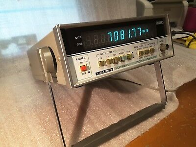 Leader LDC-824S 512Mhz Frequency Counter GUARANTEED NICE CONDITION SALE RARE $89