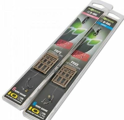 Korda Ready Tied IQ D Rig Barbed or Barbless Available Sizes 4, 6 or 8