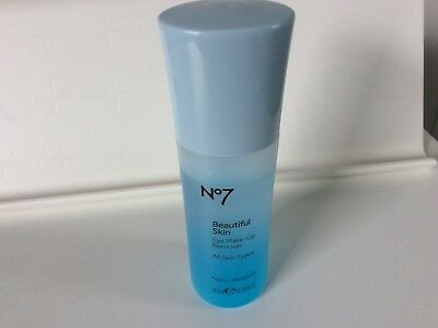 **Boots No7 Cleanse & Care Eye Makeup Remover - 30ml Travel Size - Brand New**