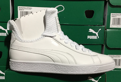 Puma Basket Fierce EP Women s Skateboarding Sneakers White 365663 01 Sz6-9 L 42635d299