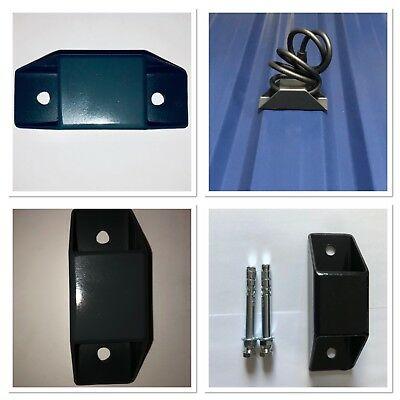 Solid Anchor Wall Ground Bolt Down Security Lock Bike Cycle Motorbike Quad