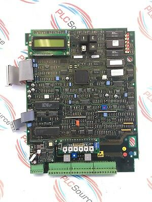 Eurotherm Ssd  Parker 590 Drive 385356 Issue 1 94Vo 9613 Display Motherboard
