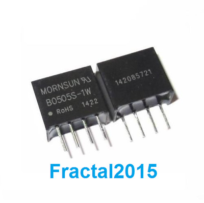 1Pcs B0505S-1W DC-DC 5V Power Supply Module 4 Pin Isolated converter