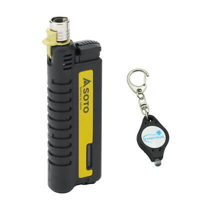 SOTO Outdoors Pocket Torch PT-XT w/ Bonus Lumintrail Keychain Light