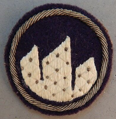 WWII / Korean War Army 21st Division Wool / Bullion Used Patch No Reserve