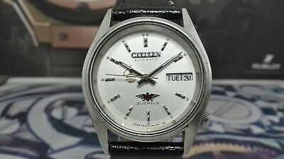 Vintage Gent's Citizen Automatic Stunning White Dial Men's Wrist Watch-Serviced