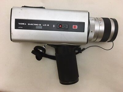 Vintage Yashica Electro 8 LD-8 - Super 8 Silent Movie Camera 1974-1977