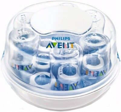 Philips Avent BPA-Free Microwave Steam Sterilizer - Bottles Pacifiers Nipples