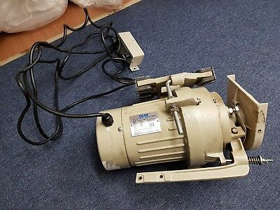 ISM Clutch Motor Model NS-412 For Overlock & Blindstitch Sewing Machine