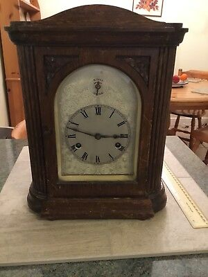 Antique Clock 3 X 2  Repairs Or Spares