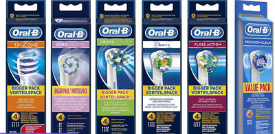 Oral b Toothbrushes Heads (5 types Available)