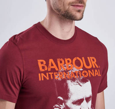 new barbour international starting line steve mcqueen series mens M tee/t-shirt