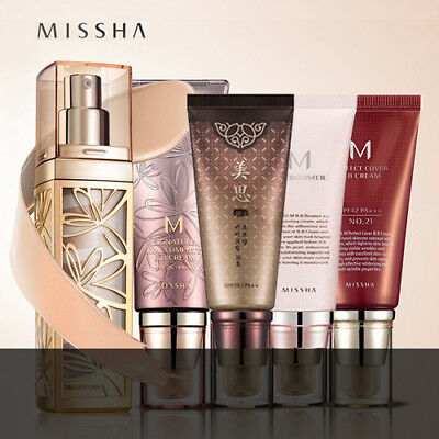 Missha Bb Boomer/ Perfect Cover/ Signature/ Fill Up/ Cho Bo Yang Bb Cream [Au]