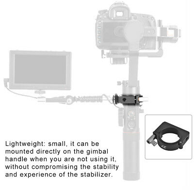 """Zhiyun Extension Portable Mounting Ring with 1/4"""" Thread for Crane 2 Stabilizer"""