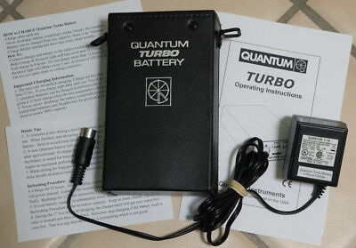 QTB Quantum Turbo Battery #Q037 with New Cells & T16 charger