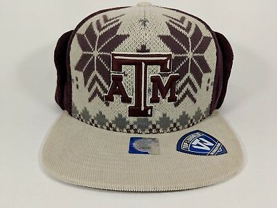 buy online 869d9 cb726 Texas A M University Aggies adjustable hat cap NCAA UGLY SWEATER HAT